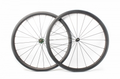 Kaze 26mm(wide) Extralite hub built tubeless wheel set 20H/24H