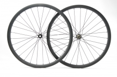 Gravel Wheelset built with Bitex Straight Pull Disc hub