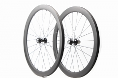 Kaze Disc 28mm(wide) White Industry CLD built tubeless wheel set 24H/24H