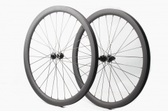 Classic Disc DT350 built 25mm wide tubeless wheel set 24H/24H
