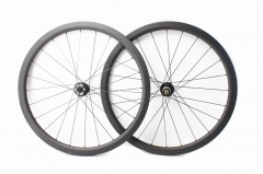Classic Disc Novatec D411SB D412SB built 25mm wide tubeless wheel set 24H/24H