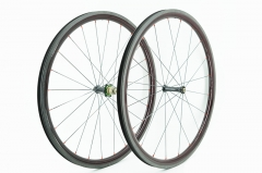 Kaze 26mm(wide) Extralite hub built tubular wheel set 20H/24H