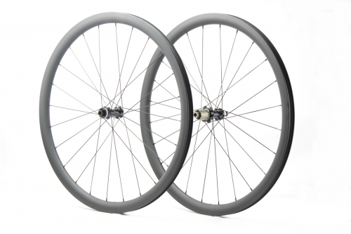 Kaze Disc 28mm(wide) Bitex 312 built tubeless wheel set